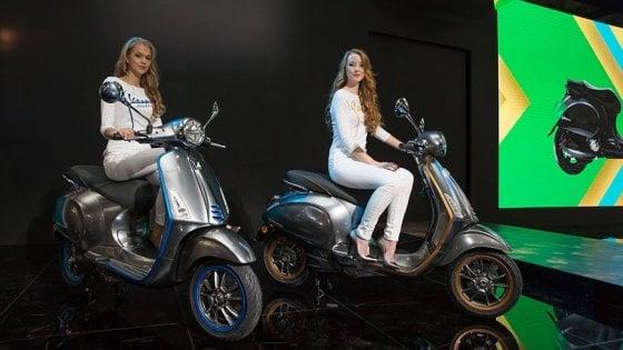 Milano, Eicma 2018: la Vespa si dà una scossa, presentata la versione elettrica