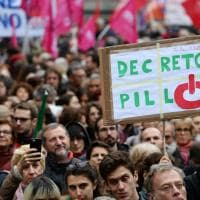 Milano contro il ddl Pillon, le immagini della manifestazione in piazza Duomo