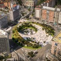 Milano, una piattaforma verde sopraelevata per il nuovo piazzale Loreto