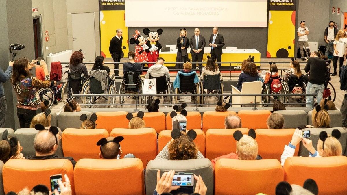 Il cinema in corsia: al Niguarda di Milano una sala film per