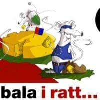 Manifesti razzisti in Canton Ticino: gli italiani come topi nel formaggio