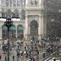 Maltempo: ciclone invernale sulla Lombardia, a Milano arriva la neve