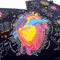 Un maxi-murale con il cuore e l'energia delle 7 note per la Milano Music Week