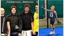 Fedez vs Albertini: la sfida è sul campo di padel