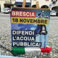 Referendum sull'acqua pubblica a Brescia: stravince il sì, ma votano in