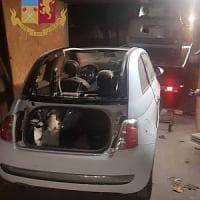 Milano, auto rubate e cannibalizzate: la polizia scopre officine abusive
