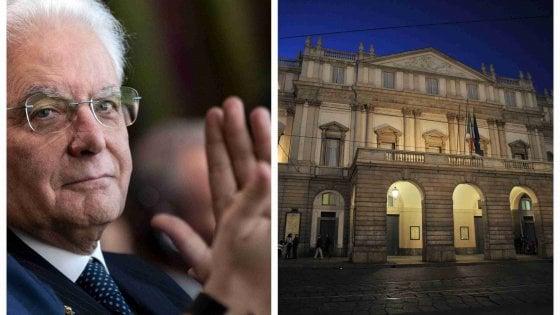 L'Attila alla Scala di Milano, il debutto alla 'Prima' del presidente Mattarella