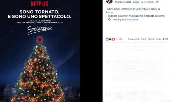 """Il nuovo Spelacchio arriva da Varese: """"E quest'anno sarà tutta un'altra storia"""""""