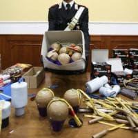 Mantova, in casa un bazar con centinaia di fuochi d'artificio illegali: arrestato 60enne