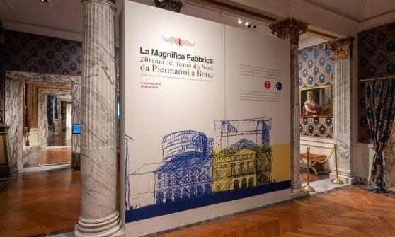 """Milano: apre """"La magnifica fabbrica"""", la mostra che racconta la Scala e presenta la nuova torre di Botta"""