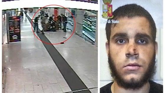 Milano, aggredì poliziotti e militari in stazione Centrale: pena ridotta in appello per Hosni