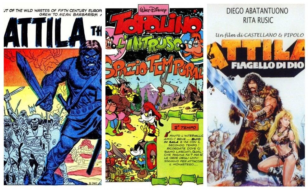 Milano, Attila a fumetti e nel cinema: allo Spazio Wow l'omaggio per la Prima