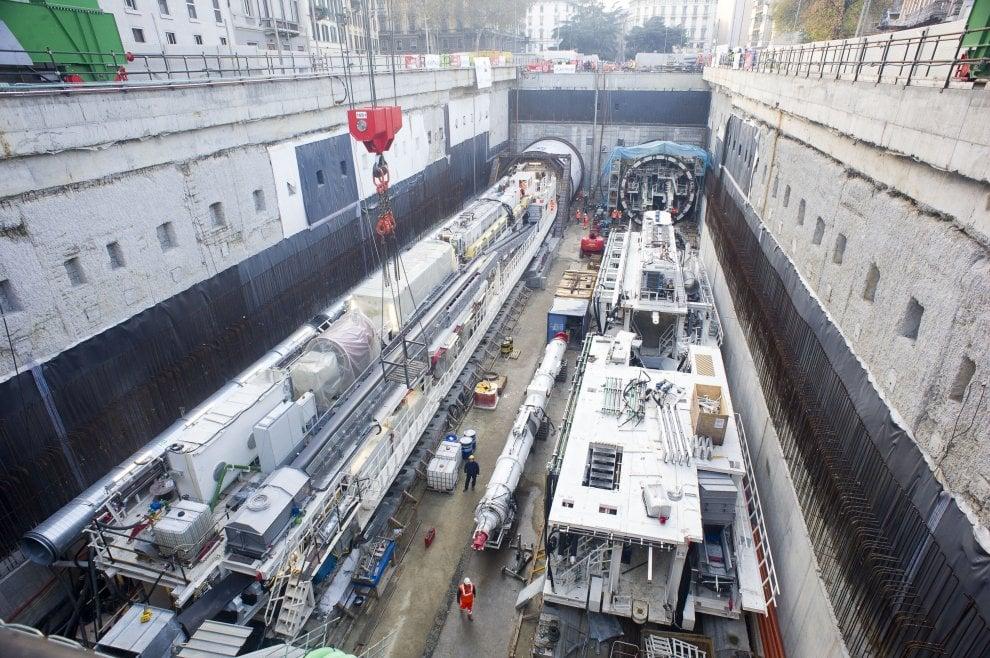 Milano, al lavoro la maxi talpa: scaverà il tunnel centrale della M4