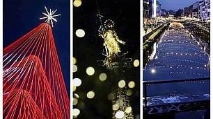 Natale: Milano si trasforma nella città delle luci ·  Video