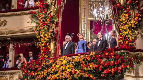 """'Attila' alla Scala, Mattarella: """"Musica e cultura baluardo della democrazia"""""""