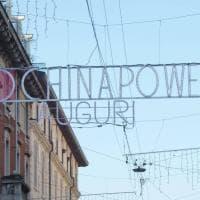 """""""Chinapower"""" in via Paolo Sarpi a Milano, la pubblicità fa discutere"""