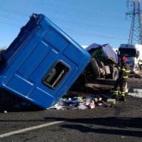Incidente sulla A8 alla barriera di Milano Nord:  6 feriti, traffico bloccato