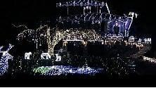 Varese, mezzo milione di Led illuminano Leggiuno, il paese incantato