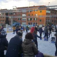 E' Natale a Milano dal centro alle periferie: a Quarto Oggiaro pista di pattinaggio e un quadro speciale