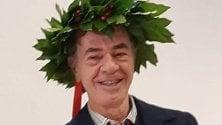 Romeo Gigli riceve il diploma honoris causa all'Accademia di Brera