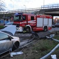 Incidente stradale a Corsico: auto contro pedoni. Quattro feriti, un 16enne