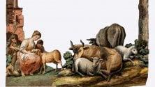 Il presepe di carta    del 1700 a Palazzo Pirelli