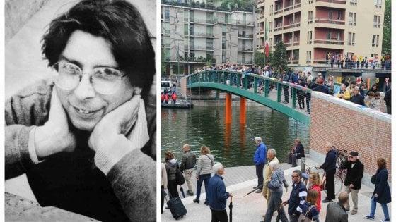 Milano omaggia Alexander Langer e gli dedica il ponte sulla Darsena