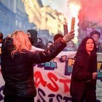 Milano, gli studenti tornano in piazza contro il governo e Salvini: centro