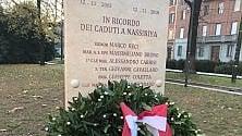 Milano commemora i caduti di Nassiriya: una stele in Sant'Ambrogio