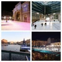 Tutti in pista: per Natale Milano si riempie di patinoire