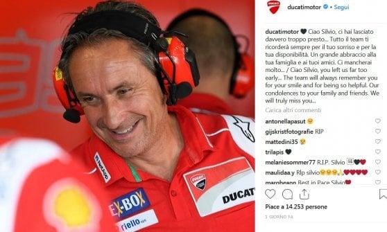 Lutto nella Moto Gp: morto Silvio Sangalli, team coordinator della Ducati. Il ricordo dei piloti sui social