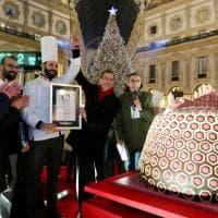 A Milano il panettone più grande del mondo: con 332 chili è nel Guinness dei primati