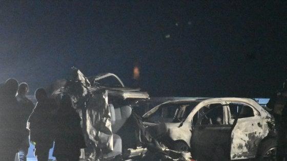 Sondrio, auto contromano sulla statale: 6 morti nello scontr
