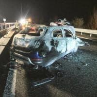 Sondrio, auto contromano sulla statale: 6 morti nello scontro frontale