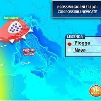 Meteo Lombardia, arriva la perturbazione: prevista neve anche in pianura