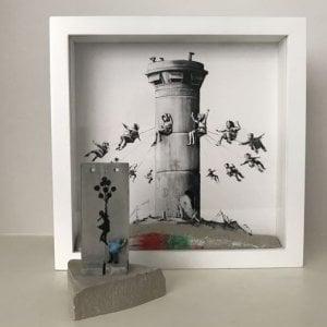 Milano, tenta di rubare opera di Banksy al MuDec: preso