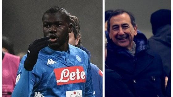 """Insulti a Koulibaly durante Inter-Napoli, il sindaco Sala: """"Contro il razzismo fascia da capitano a Asamoah"""""""