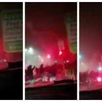Scontri Inter-Napoli, morto un tifoso: tre arrestati e sei indagati per rissa aggravata