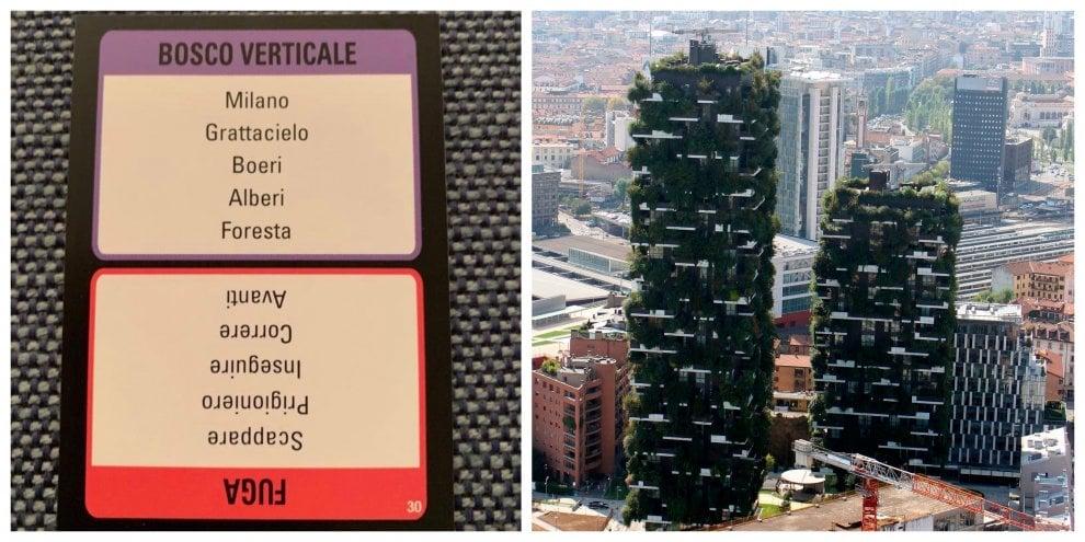 Il Bosco verticale di Milano finisce nel gioco di società: lo scatto di Boeri su Twitter