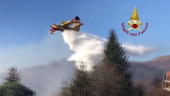 Varese: domato l'incendio a Campo dei Fiori, ora scatta l'allarme per gli animali