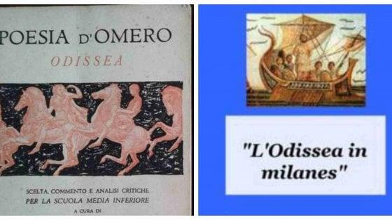 Milano: due pensionati traducono l'Odissea in dialetto meneghino