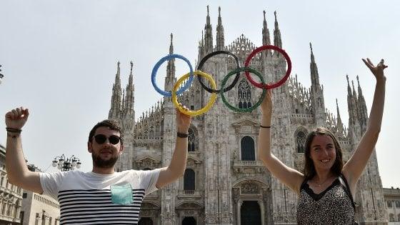 Olimpiadi 2026, il governo ha firmato la lettera di candidatura Milano-Cortina