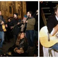 Una cantata anarchica per De André: in piazza Duomo a Milano l'omaggio a Faber 20 anni dopo