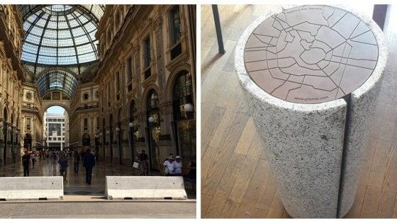 Sicurezza, a Milano arrivano i 'Milomat': cilindri anticamion per sostituire gli antiestetici jersey di cemento