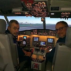 Milano: il primo simulatore di volo al mondo per Canadair arriva al Terminal 1 di Malpensa