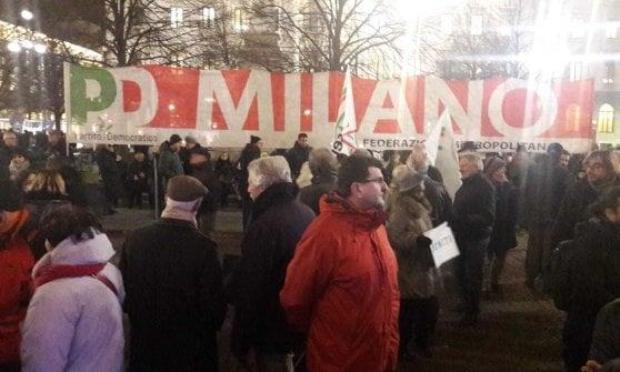 """Milano in piazza contro il governo,  Sala: """"Spero che da qui possa ripartire il pensiero della sinistra"""""""