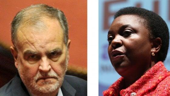 Insulti a Kyenge, Calderoli condannato a 18 mesi: riconosciuta l'aggravante razziale