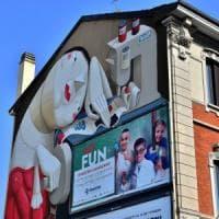 Milano, il Comune salva il murale: