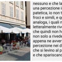Fa una recensione negativa al Caffè Zucchi di Monza, il titolare gli risponde