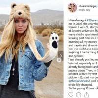Su Instagram il 'Come eravamo' di Chiara Ferragni: sui social è il #tenyearchallenge